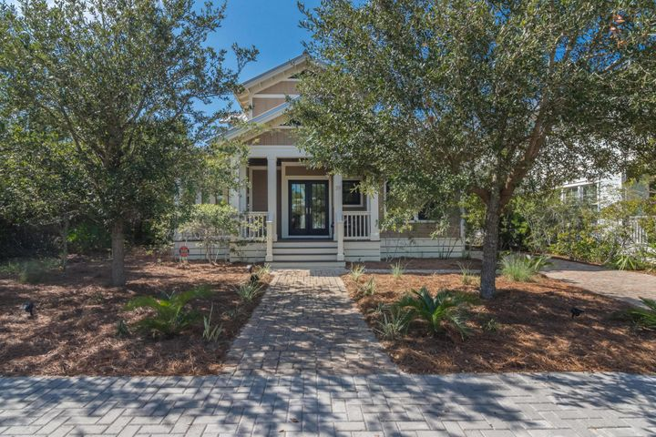 Welcome to the quaint gated community of the Preserve at Grayton Beach.  Community has deeded beach access, two community pools, tennis court, community room and exercise room.  This lovely maintained 3 BR 31/2 bath well maintained home is designed for comfort and convenience.  This home is sold furnished ( with a few exceptions) and has never been rented.   This is move in ready. No Sign yet. Buyer to confirm all measurements