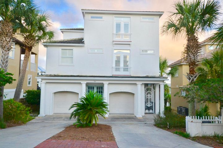 This completely renovated 4 BR home is located south of 30A in a private neighborhood of Blue Mountain beach & has a private deeded beach access. There are beautiful gulf views from the 3rd floor kitchen and living area. You can also step out on the balcony to relax & enjoy the sunrise or sunset. The location is perfect as you can walk to several restaurants & a health food/grocery store. The community pool is 2 houses down & you can walk to the private beach access in less than 2 minutes. This is a perfect investment or second home for anyone and is rental ready with yolo bikes, beach chairs, beach toys & more. The builder built this home for his personal use so there are many great features such as a 2 car garage, large kitchen with a dumb waiter and windows galore so you don't miss the