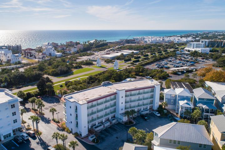 Wonderful Walkout First Floor Unit with Pool View. The Inn at Seacrest Beach with beach access, community pool and walkability to the East End of 30A's most popular shops and restaurants is ideally located between Alys and Rosemary Beach.