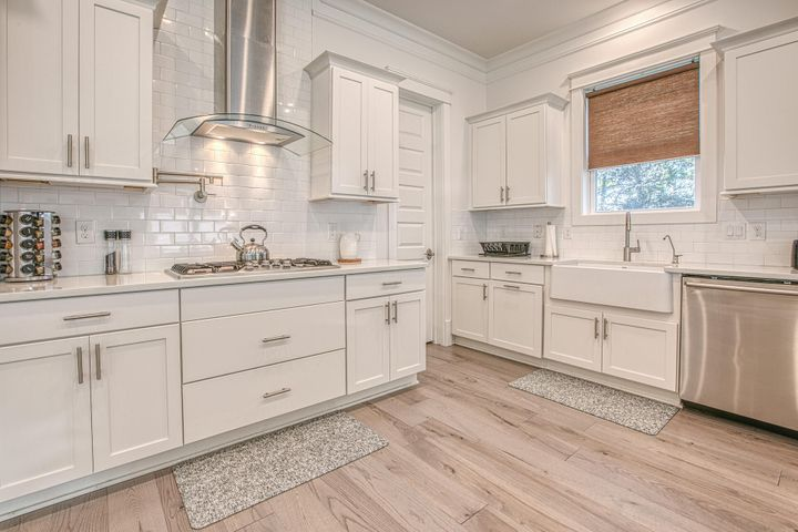Gorgeous kitchen with stainless appliances