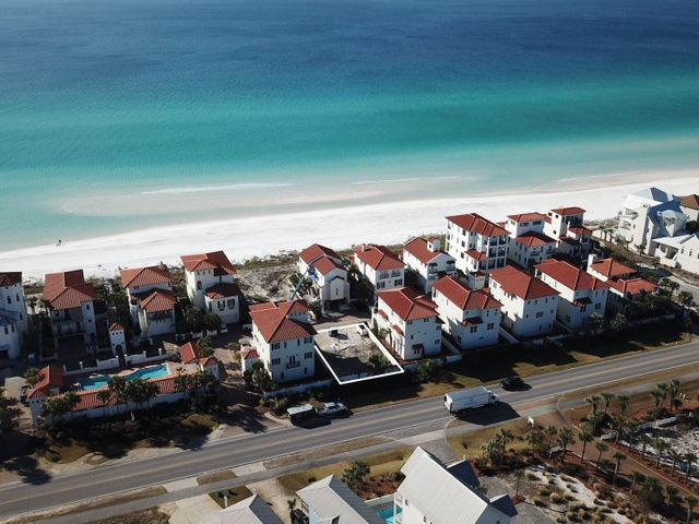 This is one of only two remaining vacant home sites available in Vizcaya.  Vizcaya at Dune Allen is a gated Gulf front community located on the west end of Scenic Highway 30A.  This quiet community offers private living with only 32 homesites, three dune walk-overs, a resort-style heated pool, and approximately 900 feet of beach frontage.  Enjoy the convenient location near Gulf Place Town Center for shopping, dining and entertainment and Santa Rosa Beach Club for golf and Gulf front dining.