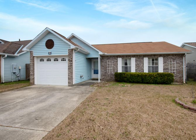 Great opportunity in Fort Walton Beach. This 3-bedroom, 2-bath home is ready for a new owner!