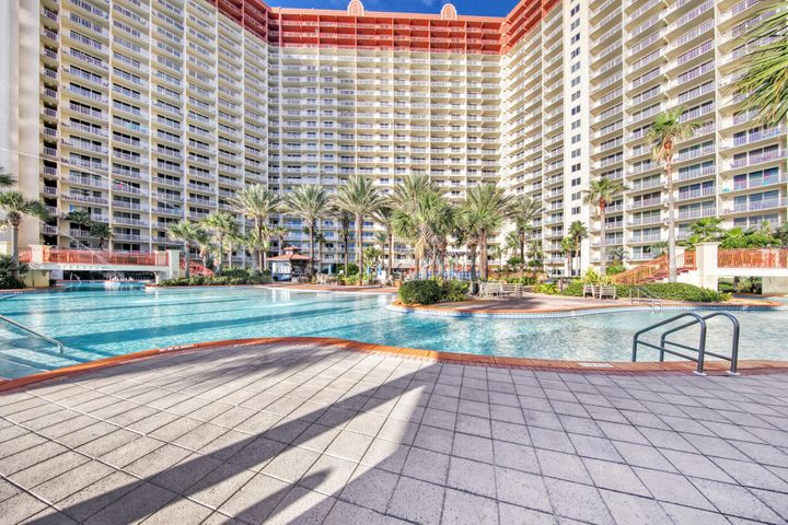 This unit has been recently renovated with new cabinets, countertops, appliances, flooring and all new furnishings. This is a premium unit at Shores with 2 reserved parking spaces on the same floor.