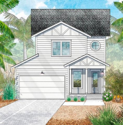 New Construction!Welcome to Church Street Landing! Where you will find your next future home hidden back in the natural pines and foliage of Santa Rosa Beach. Church Street Landing offers a great location in between all the Emerald Coast has to offer. 30A, Destin, and Panama City Beach all in close proximity without all the crazy traffic! NO ACTIVE HOA! This Semi Custom home gives you a ton of options at a great price! Granite Countertops, engineered hardwood floors, two car garage, and amazing outdoor living! This home has so much to offer, with its close proximity to the beach, it has the potential to be an amazing secondary or full time beach house.*Price is base price, with upgrade options available!*