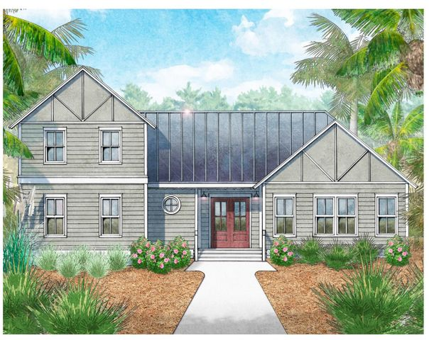 Welcome to the quaint community of Church Street Landing!  This small community consists of 17 lots intermingled with woodlands and preservation.  The ''Marie'' is just one of several floorplans to be built.  This particular house offers a hard to find floor plan with the owner's suite on the first floor along with a two car garage!  Standard features include: granite countertops, engineered hardwood floors, 10 foot ceilings on first level, and more.  Enjoy the fabulous location of Church Street Landing by being close to 30A, Destin, and Panama City Beach.  Choose from multiple public beach accesses on 30A only minutes away!  Price is base price with upgrades available.  All pictures are similar but are not of actual home.  Home is to be built.