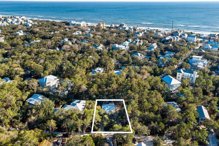 Under contract with a 72 hour Kick-out Clause. Recently renovated and tucked in the heart of Old Seagrove, this quaint coastal cottage offers many possibilities. Located on a 91' x 110' homesite, there is ample room to expand the home, add a swimming pool and add a carriage. Open concept living areas are spacious and airy with high ceilings with shiplap accents, a neutral palette, and beautiful wood plank flooring. A perfect beach getaway, this serene retreat features three bedrooms and a bonus room currently being utilized as an office (but could be converted to a 4th bedroom and 3rd full bath). Seller installed a new roof, HVAC system, custom fencing and washer/dryer after purchase.A Seagrove beach access is located at the end of Dogwood Street and Seaside is just steps away!  Within walking distance of Emerald Coast beaches as well as popular shops and restaurants in Seagrove Beach and Seaside, Florida, this home offers plenty of ways to enjoy life along 30A.