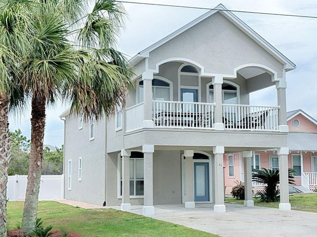 Three bedroom, three bath newly renovated beach house just steps to 30A, private beach access and a short bike ride to downtown Seaside. Awesome heated pool with paver deck and pergola. The house comes fully furnished and perfect for short term rentals or your new home. This home generated over $100,000 of documentable vacation rental income in 2020 and is on track to generate more than $130,000 in 2021. This is a great investment property.