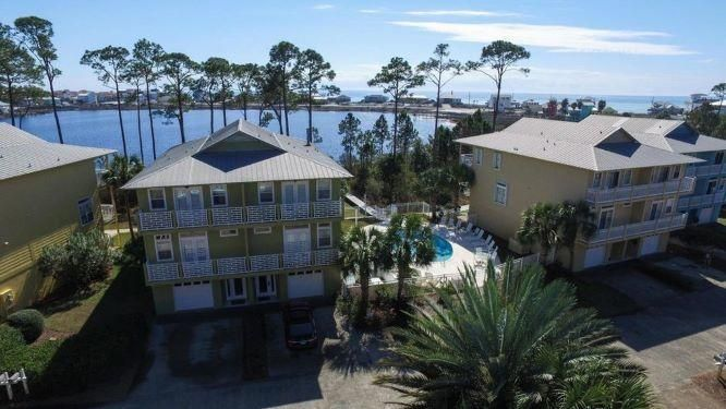 Dune Breeze Villas is located a short ride to the beach at the West end of 30A. It consists of just 9 duplexes in a quiet setting.