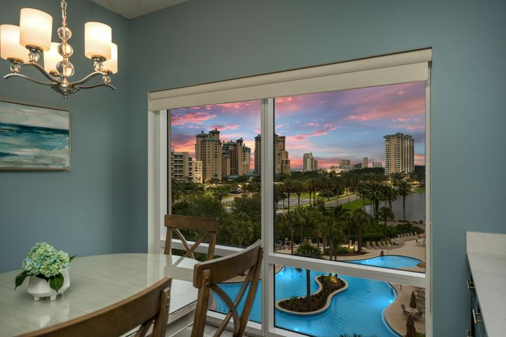 Enjoy sunsets with west facing views.