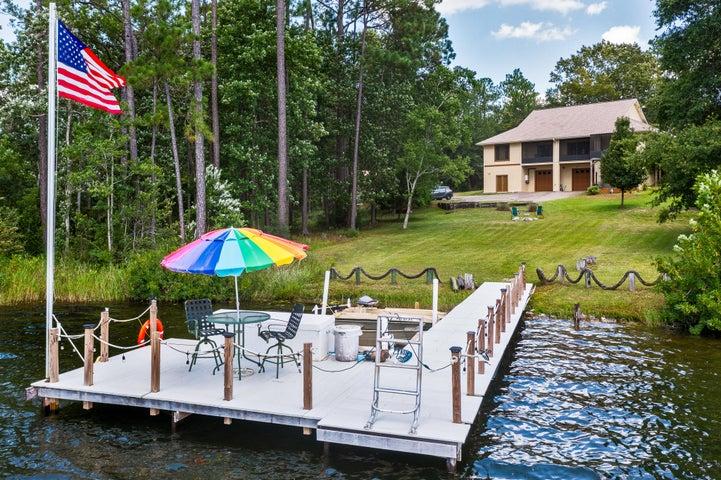 Boat Dock & Rear Elevation