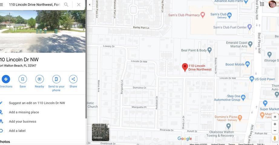 110 NW lincoln Dr Drive, Fort Walton Beach, FL 32547