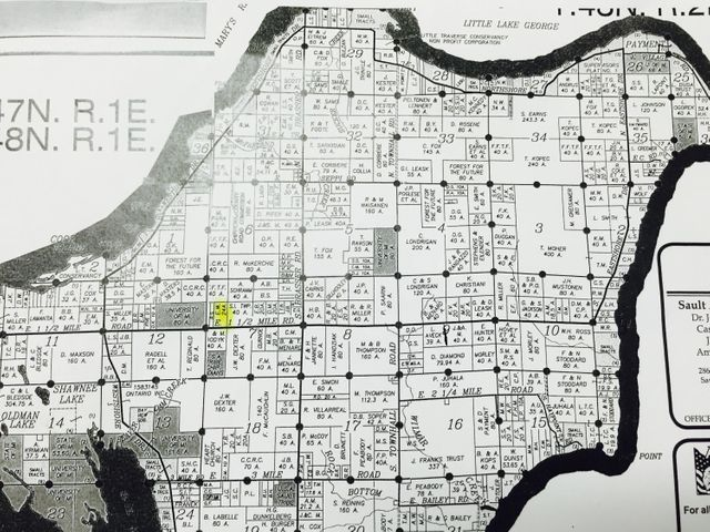 sugar island michigan map 24 Acres 1 1 2 Mile Rd Sugar Island Mi 49783 Smith Company