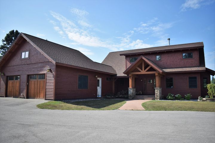 """Attention horse lovers and Privacy searching home buyers~ Here is an 5000 plus sq' ft 5 bedroom / 3.5 bath executive style home on over 20 acres, with a private drive - his home is a post & beam style, with cedar siding and cherry hardwood woodwork through out, This sale also includes a 3 bedroom 2 bath modular home on property on the grounds - custom built in 2009 this Post and Beam style home , priced to sell you'll appreciate all the other features included like the large barn , horse pastures & riding area flowing well, natural gas & charter internet - Private country living with all the """"city"""" amenities you would want!"""