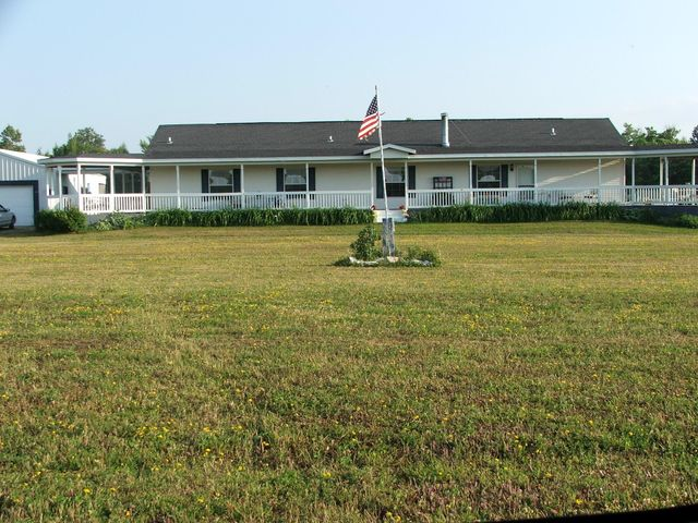 4 bedroom 3 bath home situated on 43+/- acres.