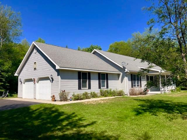 Executive style Ranch on 2 acres. 4 bedrooms and 3 bathrooms.