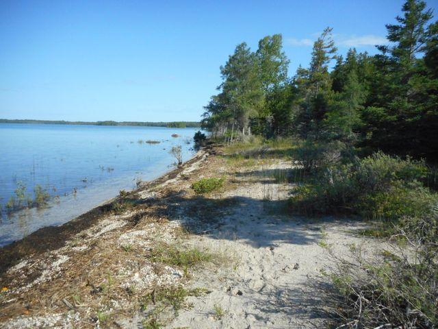 One of the last vast waterfront acreage parcels available. 1498'WATERFRONT.