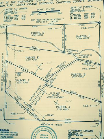 5.2 Acres Willow Lane, Sugar Island, MI 49783