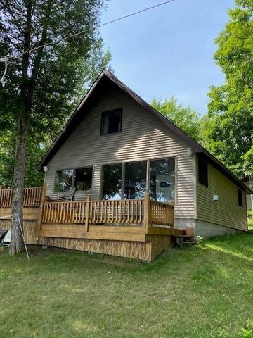 150' OF BEAUTIFUL CLEAR WATERFRONT. 3 BEDROOM 1.5 BATH YEAR AROUND HOME
