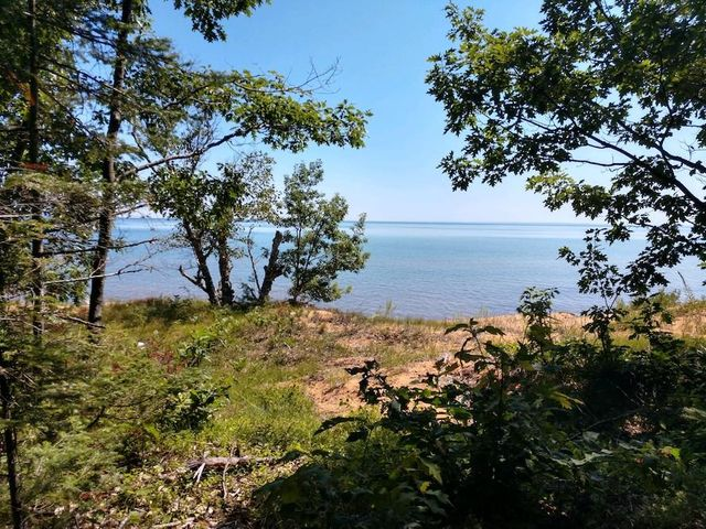 Beautiful views of Whitefish Bay and the Algoma highlands beyond