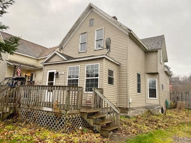 This is the perfect starter home or rental home in SSM! Located one block of ashmun street walking distance to LSSU - high efficiency furnace, newer windows, large fence md in yard - Cash or conventional buyer only -
