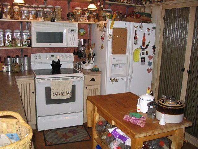 Sellers have moved out and taken all but appliances