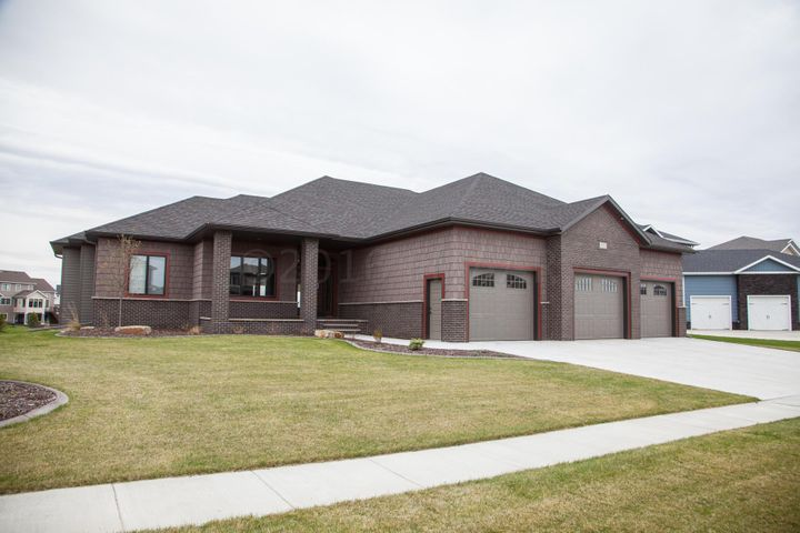 Welcome Home! Beautiful, craftsman style luxury awaits! 551 Lizzie Place, West Fargo!