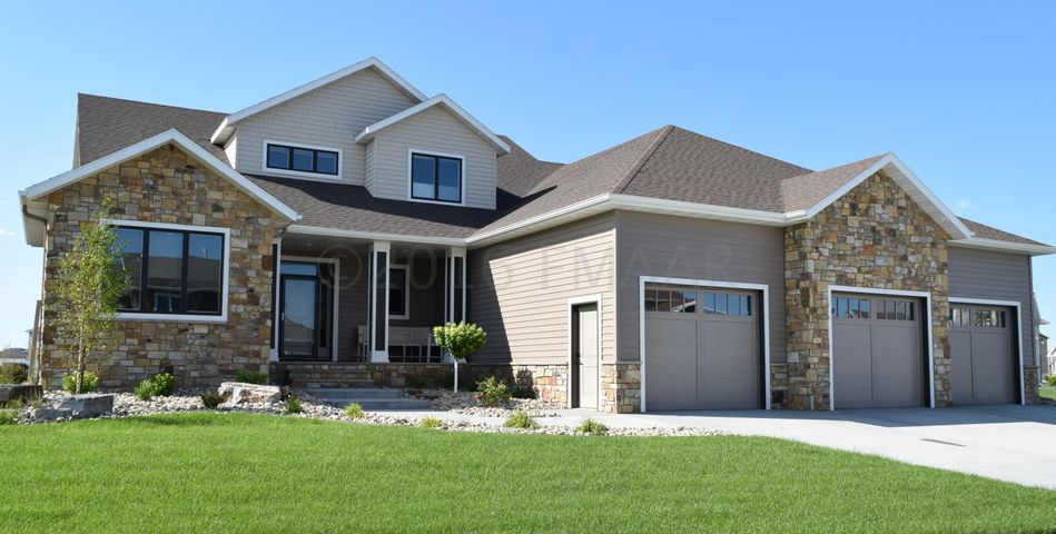 Your stunning new home awaits... 3710 6th St E, West Fargo! Welcome Home!