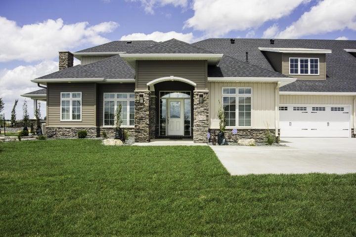 Stone & Steel Siding on Home!