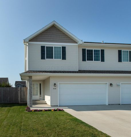 Welcome Home to 3438 Eagle Run Ln, West Fargo.