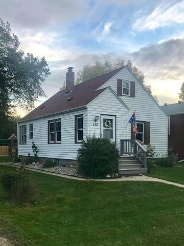 1 1/2 story character home just minutes from Fargo! Small town living at its best!