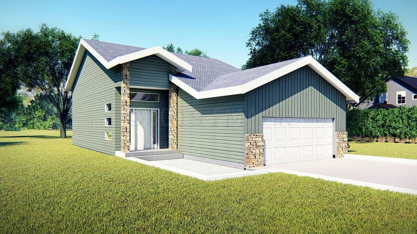 Exterior Front Rendering(To be built. Finishes subject to change)