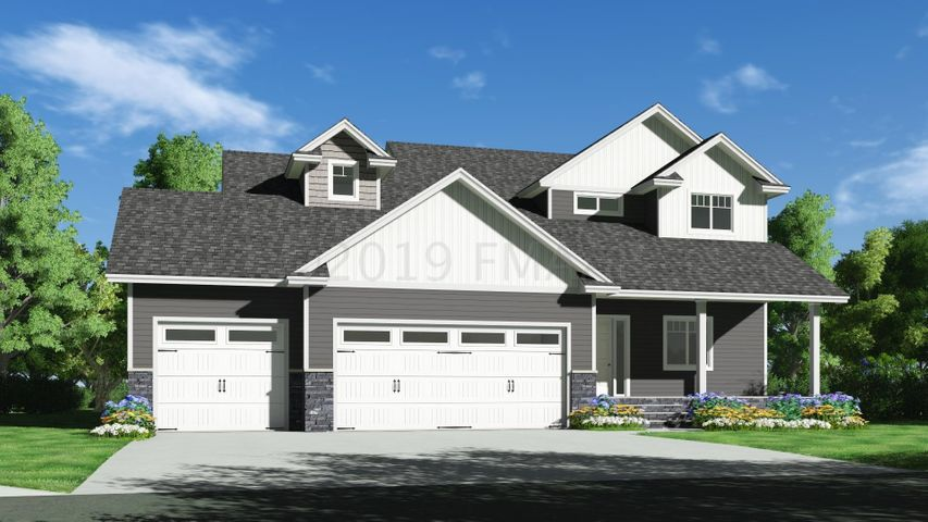 "This ""Belmont"" 2 story is ready 'to be built' on a pond lot in Glyndon, MN!"