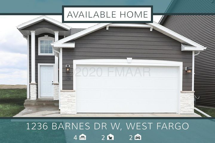 1236 BARNES Drive W, West Fargo, ND 58078