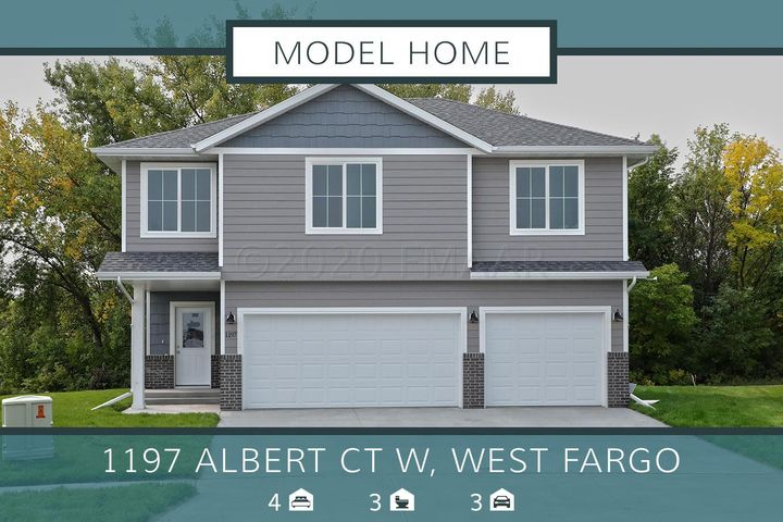 1197 ALBERT Court W, West Fargo, ND 58078