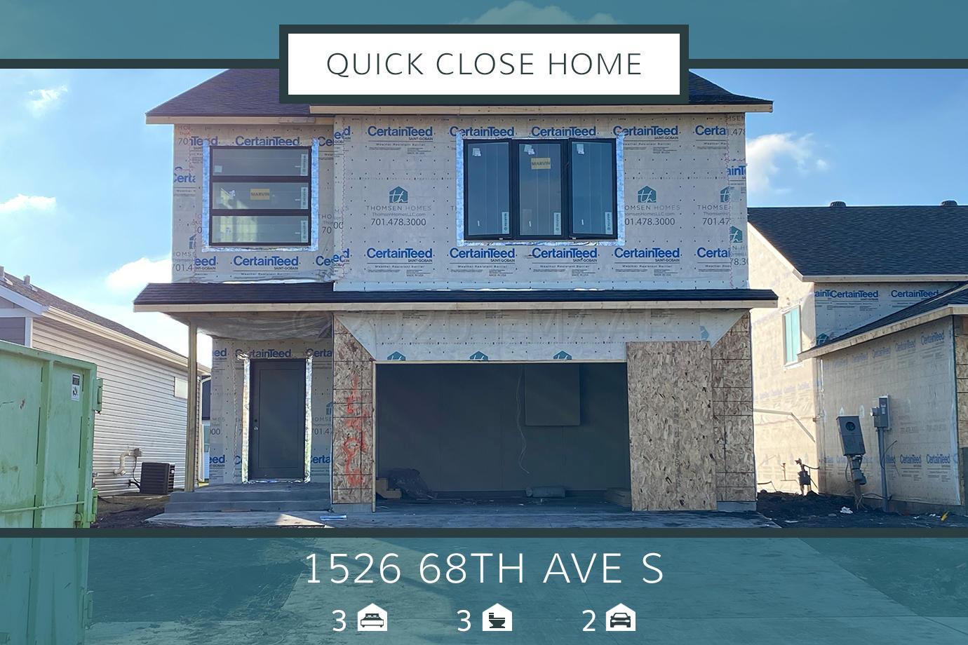 1526 68 Avenue S, Fargo, ND 58104
