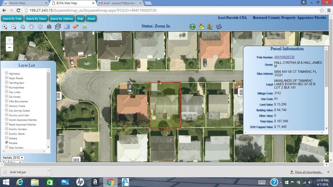 6806 NW 58th Court, Tamarac, FL 33321
