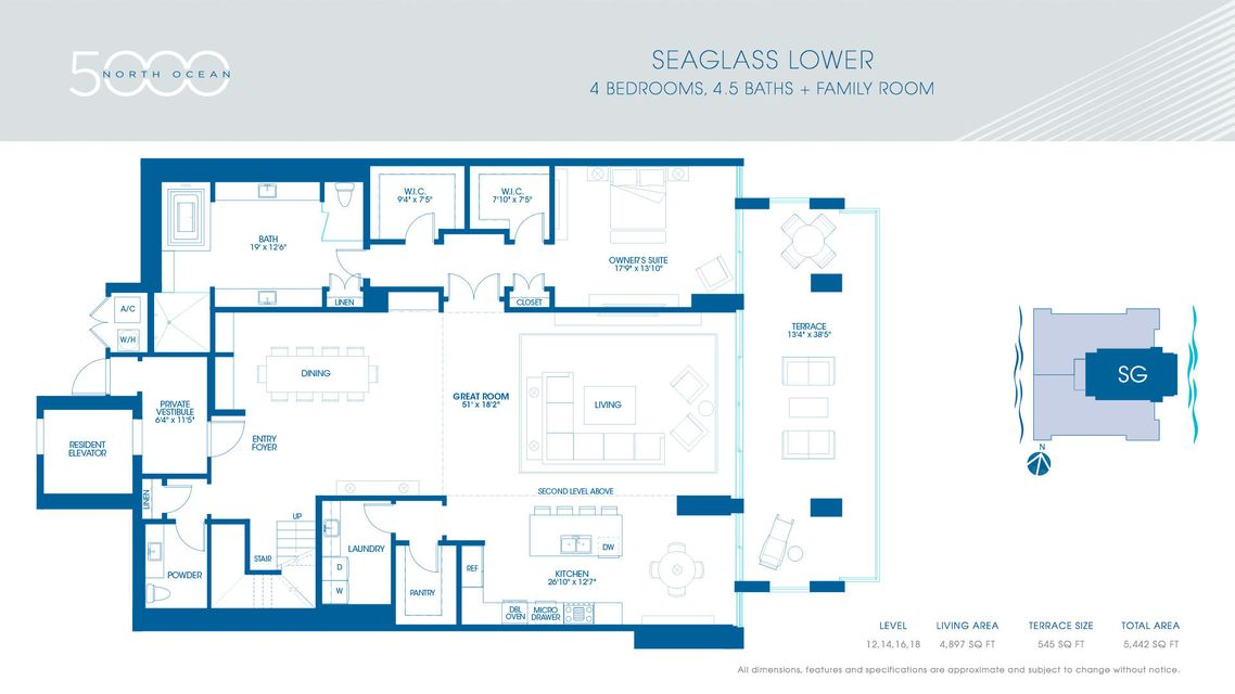 4-Seaglass Lower Floorplan