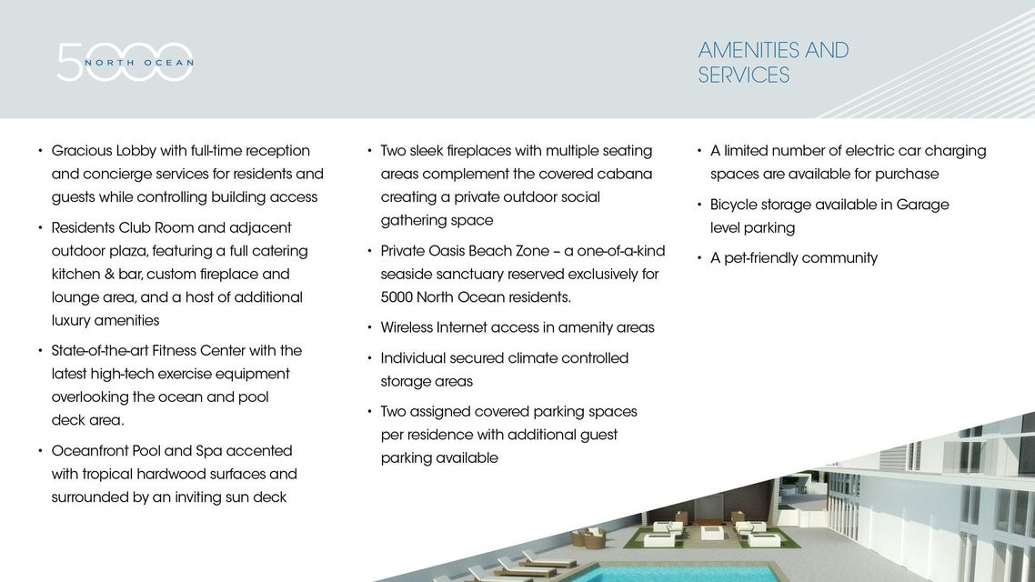 4-Amenities Features