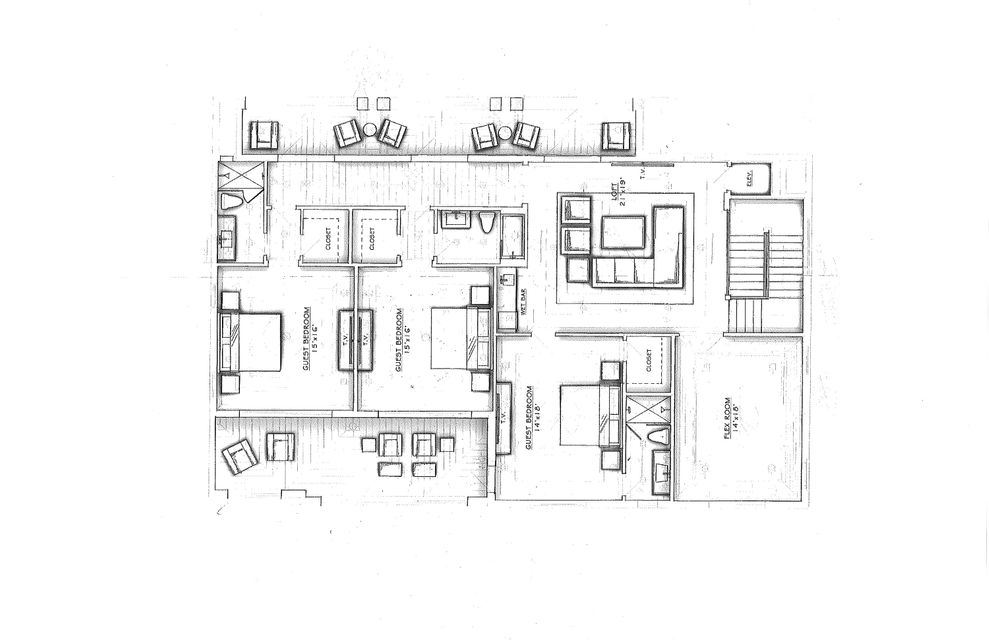 Floor Plan 2nd Floor