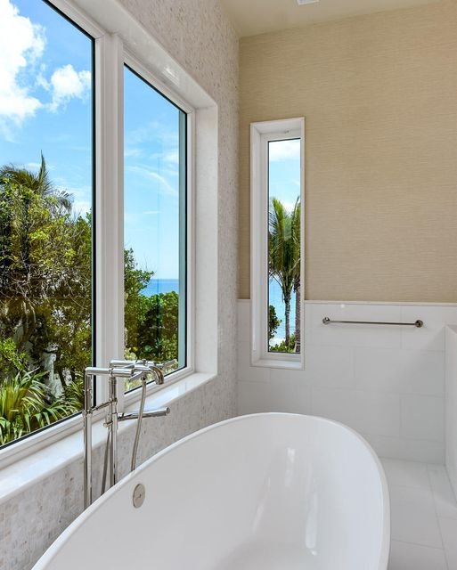 Bath with Ocean Views