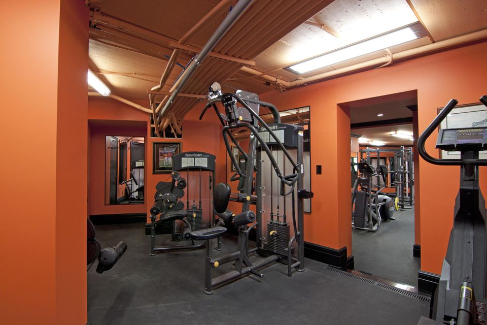 Lower level gym