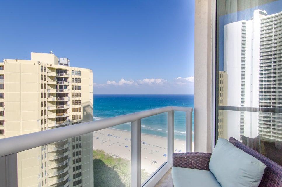Ocean and Intracoastal Balcony