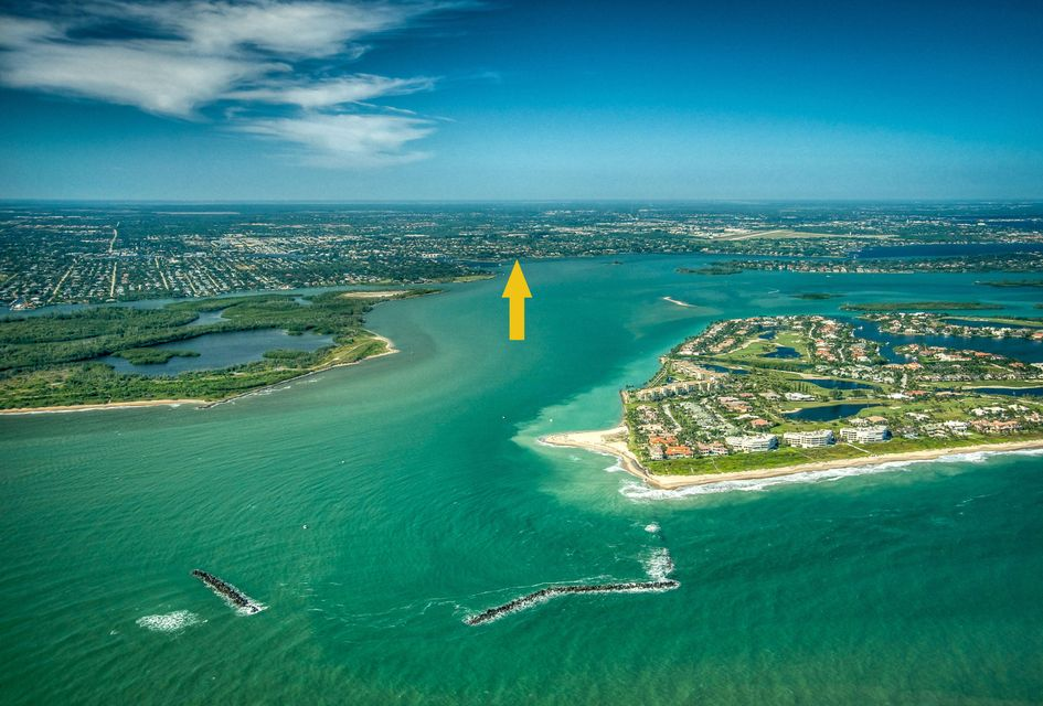 Location, Location, Location! Superlative location with direct ocean access to build your estate and dream home! 1.56 acres with 107' on the St. Lucie River, overlooking the  crossroads and beautiful blue water. This lot is over 600' in depth giving you a number of options as to where to build on the site, to maximize views, closer to the water or high on the hill. The property is home to a numberof beautiful mature Oaks and a majestic Banyan tree. The lot spans from the shoreline to a 27' elevation at the road. There is plenty of room to build a significant home with multiple garages and or guest cottages, or build a modest home and enjoy plenty of room to keep the toys! This ideal location is just minutes to the Inlet. Enjoy Florida's waterfront lifestyle every day!