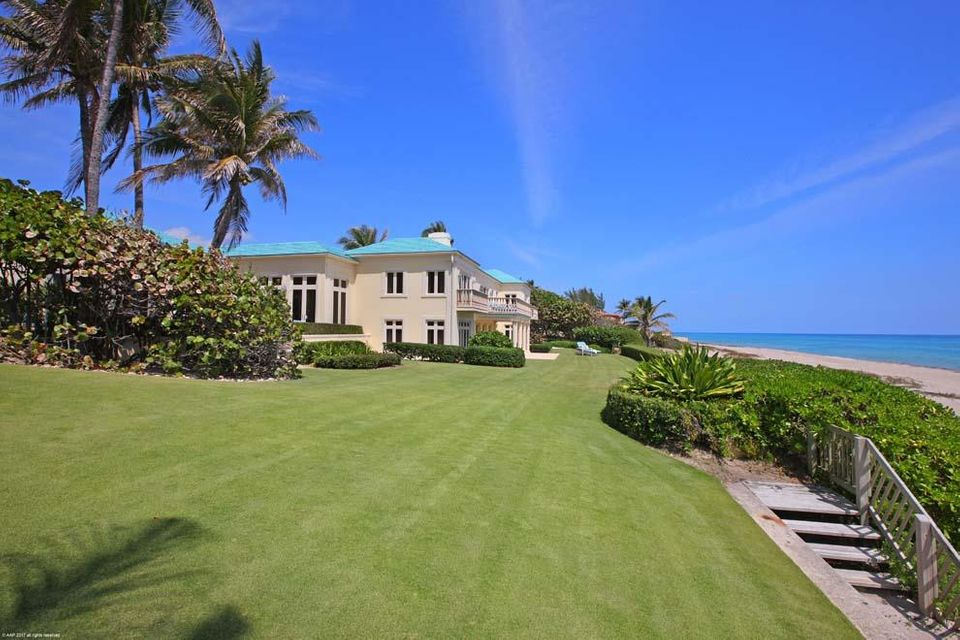 Oceanfront Estate in Gulf Stream