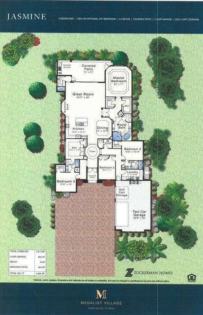Jasmine Color Floor Plan