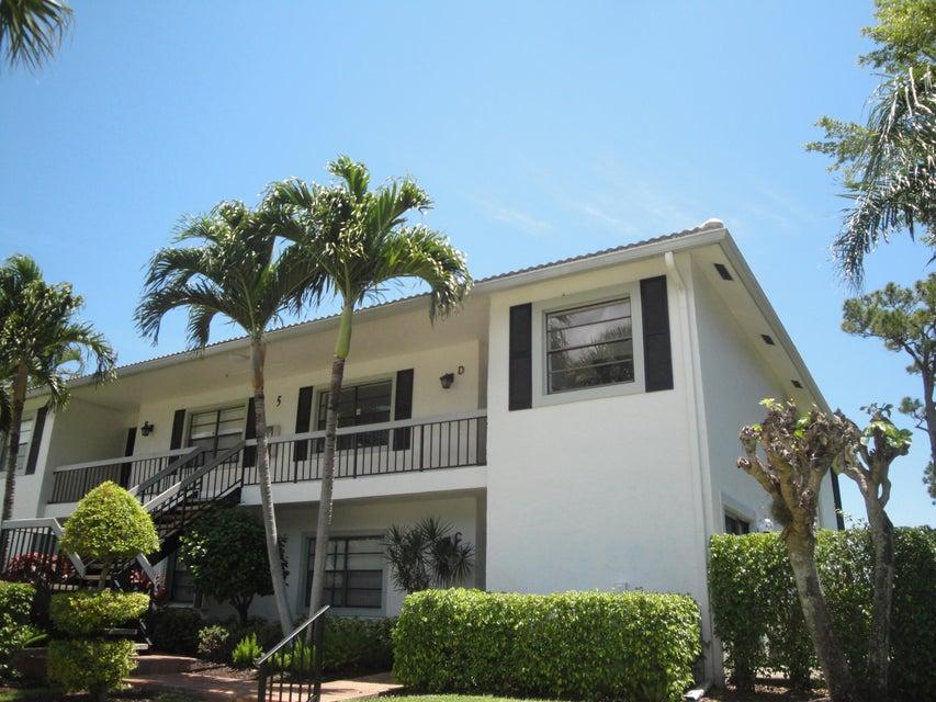 5 Stratford Drive # D, Boynton Beach, FL 33436