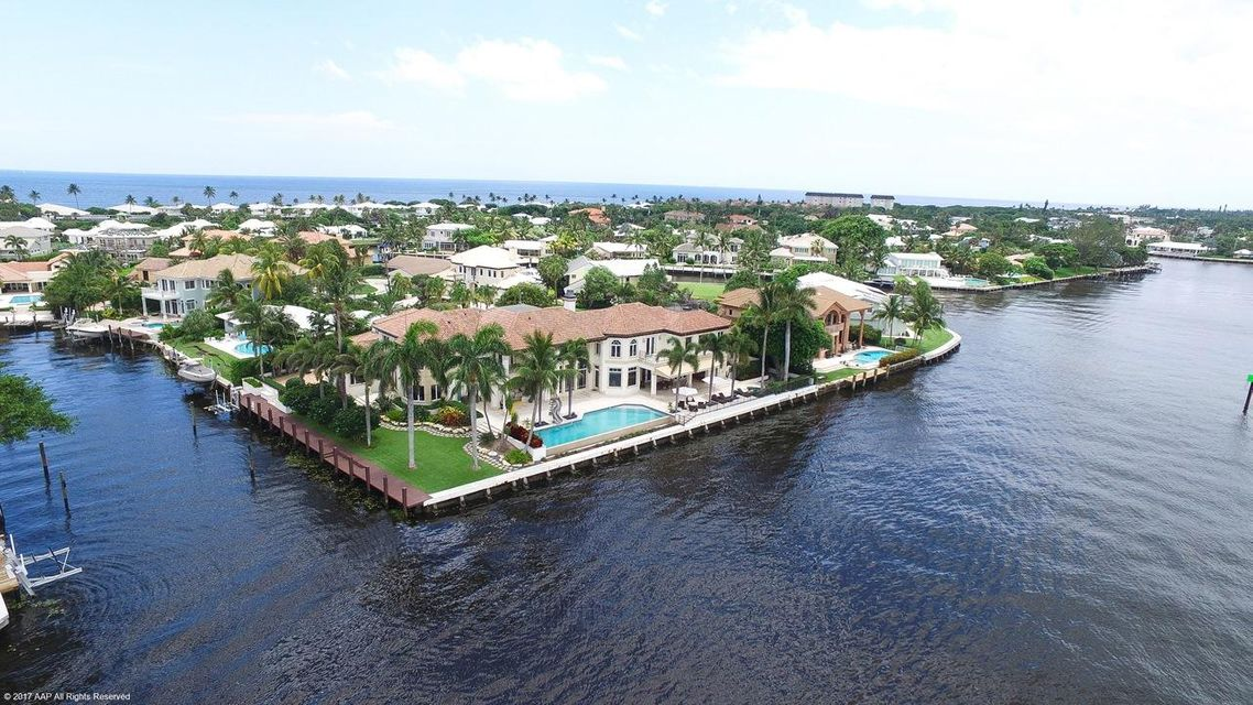 97 S Island Drive Ocean Ridge FL Aerial Featured Listing Luxury Real Estate Steven Presson Corcoran Homes For Sale