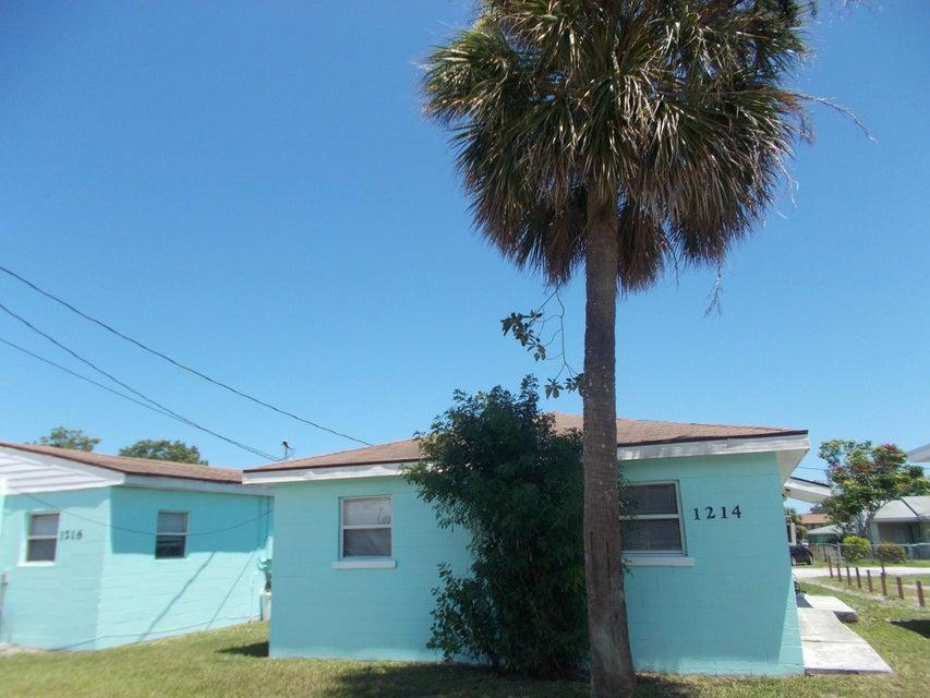 1214 17th Street- Fort Pierce- Florida 34950, ,Duplex,For Sale,17th,RX-10355048