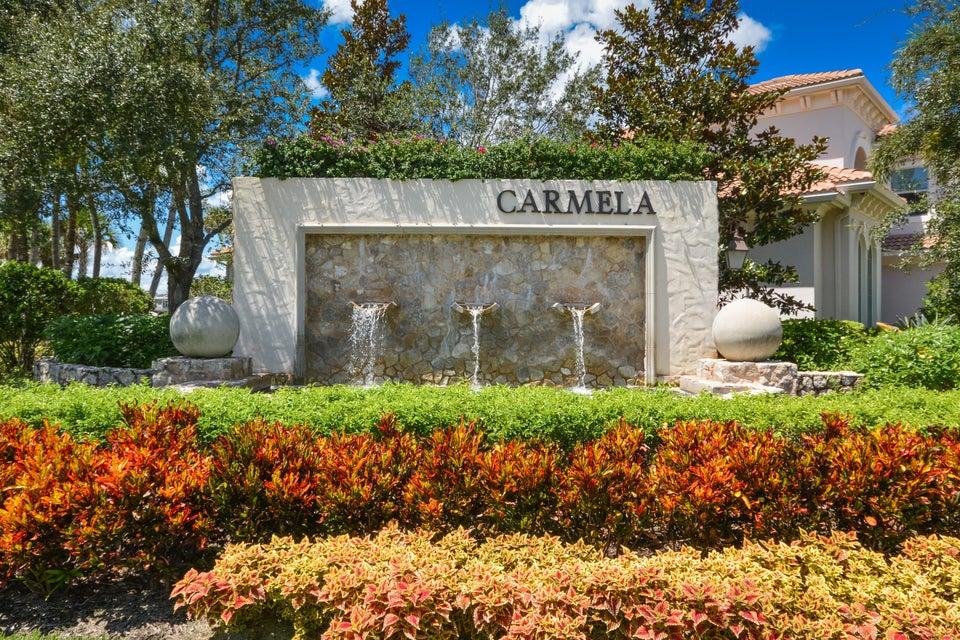 Carmela Subdivision Entry