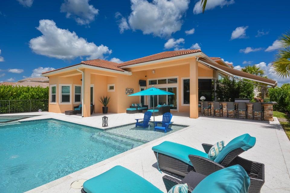 Rear Elevation & Pool Deck